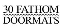 30Fathom Doormat Logo