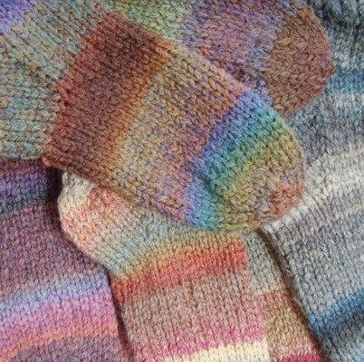 Hand-knit
