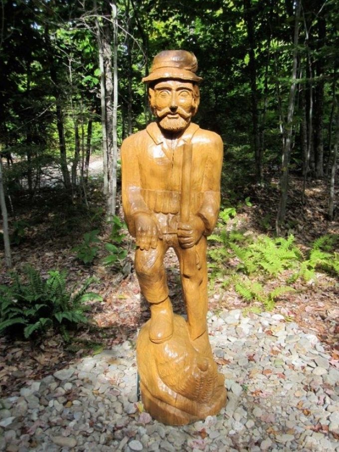Alexander Art Trail European Hand Carved Sculpture