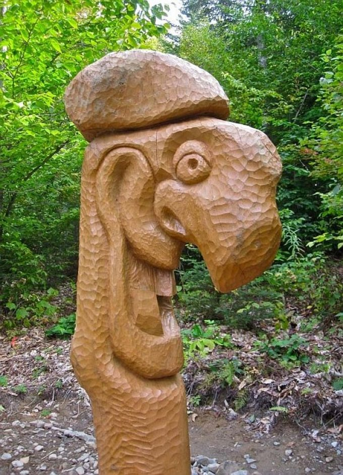Alexander Art Trail Hand Carved Sculpture