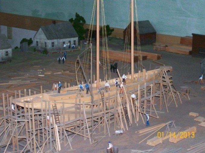 Shipyard Model